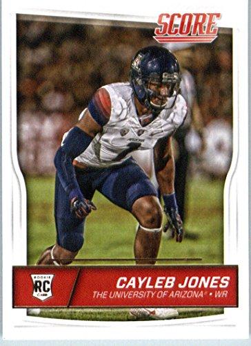 2016 Panini Score Football #434 Cayleb Jones RC Arizona Wildcats Arizona Wildcats Photo Album