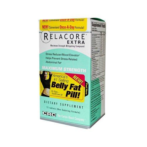 Relacore Extra Strength maximale atténuants composé - 72 Caps - HSG-1197953