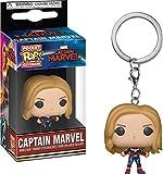Funko Pop! Keychain Marvel: Captain Marvel - Captain Marvel Unmasked