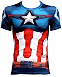 Buy 2 Get the 3rd free Men's Compression Shirt Short Sleeve Sports Fitness Running Base Layer Shirt
