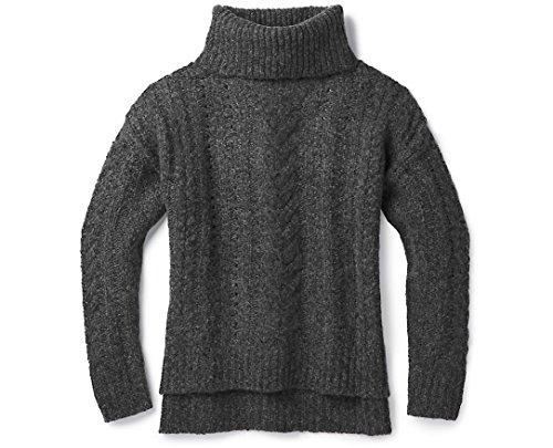 SmartWool Women's Moon Ridge Boyfriend Sweater Char XL ()