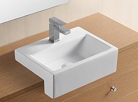 Clickbasin anadia cm cm semi incasso lavabo bagno
