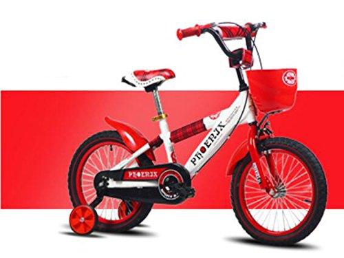子供のバイク、赤ちゃんの少女サイクリング、子供の男の子のベビーカー ( 色 : 赤 , サイズ さいず : 105cm ) B078KWL1FM 105cm|赤 赤 105cm