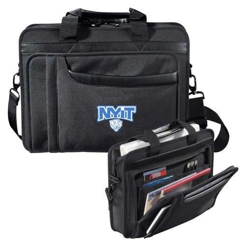 NYIT Paragon Black Compu Brief 'Primary Mark' by CollegeFanGear