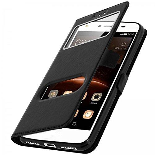 """2 opinioni per CEKA® Alcatel Pixi 4 (5"""") Custodia- Flip Magnetico Portafoglio Style Chiusura"""