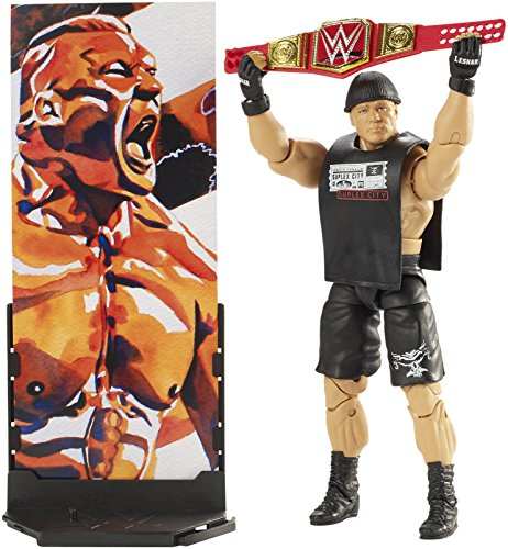 WWE Elite Collection Series # 55 Brock Lesnar Action Figure by WWE