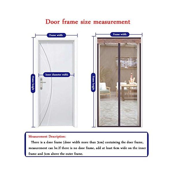 Zanzariera Magnetica Per Porte,Schermo Magnetico Porta Zanzara Estiva,Anti-Zanzara Estate Ventilazione Con Gancio e… 4 spesavip