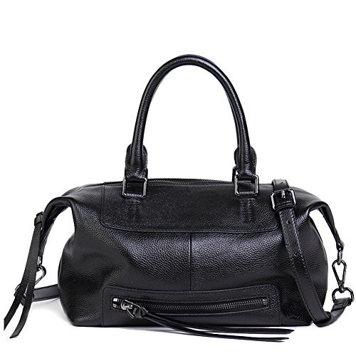 NAWO Women Leather Handbags Totes Top Handle Shoulder Bags Crossbody Designer Purse