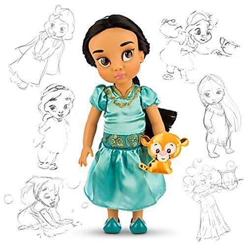 salida para la venta Officiel 38cm Disney Aladdin Jasmine Animator Toddler Doll Avec Avec Avec des accessoires Raja by Disney  producto de calidad