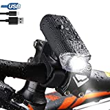 Cheap Bike Headlight, USB Rechargeable Bike Lights + Power Bank, Super Bright 4000mAh/1000 Lumens Bicycle Lights, 5 Light Modes with Daytime Mode, IP65 Wateproof LED Flashlight for Cycling,Commuting,Riding