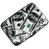 Plixio US 100 Dollar Bill Aluminum & Credit Card Case with RFID Protection by Plixio