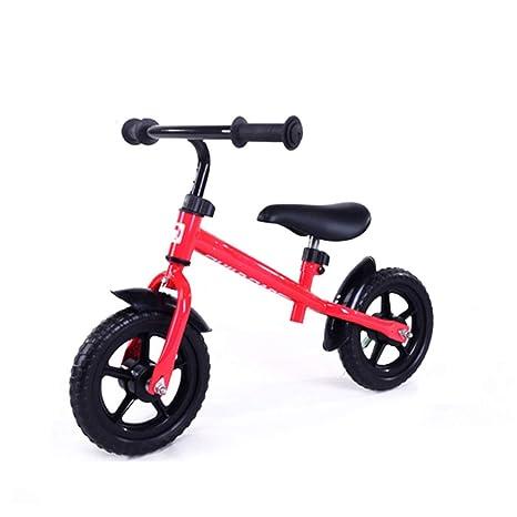 GSDZSY - Bicicleta Sin Pedales para Niños 12 Pulgadas, Acero Al Carbono, Manillar Y