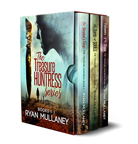 The Treasure Huntress Archaeological Action Adventure Series: Books 1-3 (The Treasure Huntress Box Set Book ()