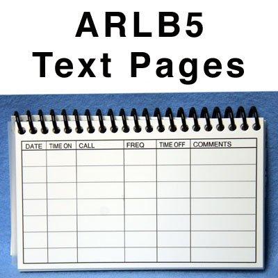 Amateur Radio Water Proof Log Book ARLB5