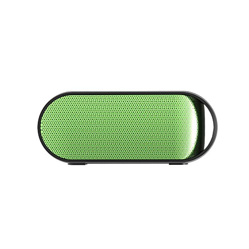 Simpiz Bluetooth 4.0 Portable Wireless Speaker NFC Water Resistant with YAMAHA DSP Built in Mic for Hands Free Calling, 10W 10m 10hr Playtime Battery for iPhone, iPad, Samsung, MP3, laptop, PC (Green) by Simpiz