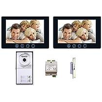 Multitenant Video Intercom System 2 Wire 2 Tenant Unit