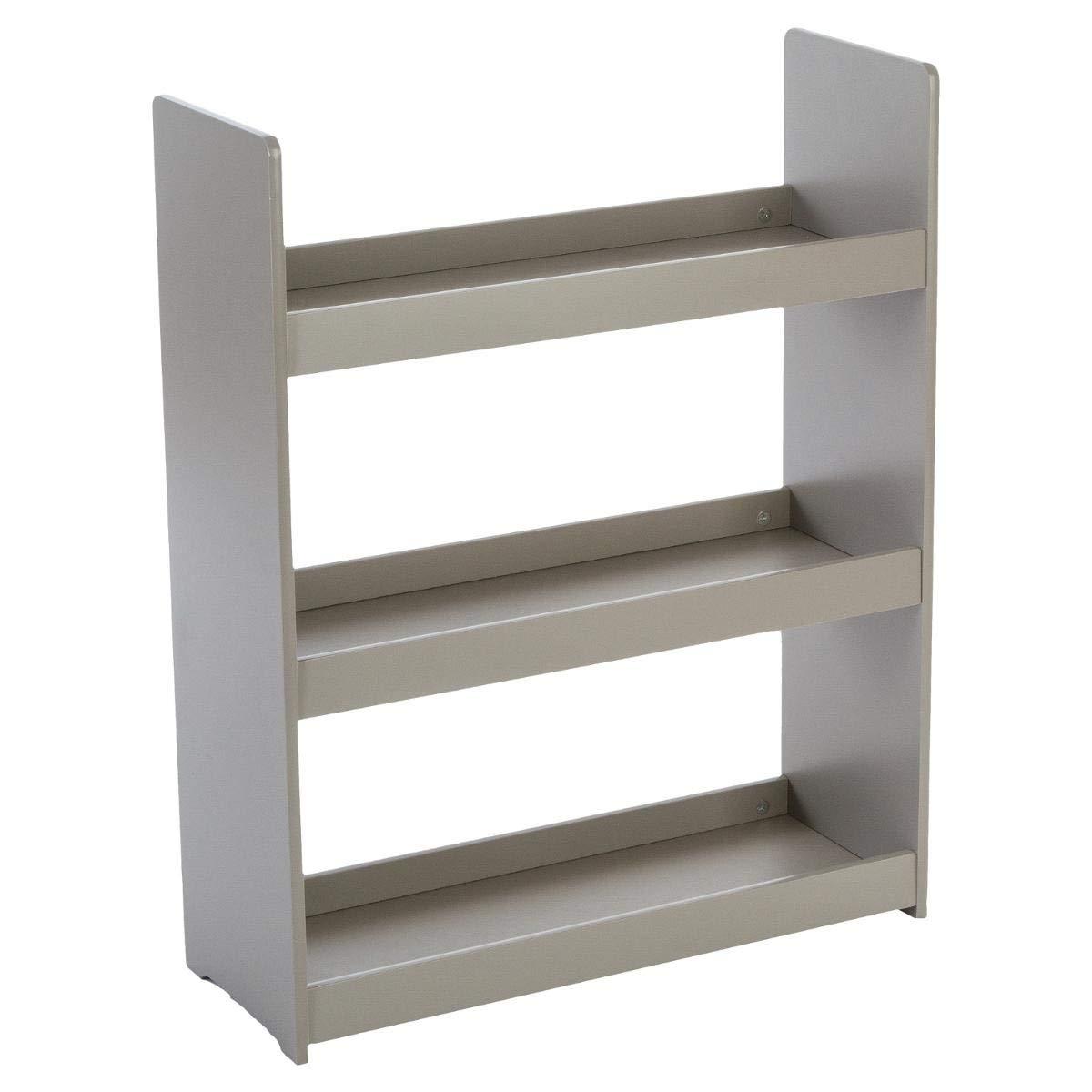 Children's wooden bookcase - 3 shelves - Colour TAUPE ATMOSPHERA