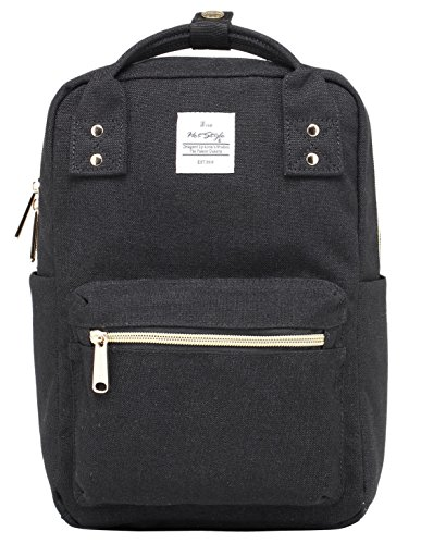 DISA MINI Small Backpack Purse | Fits 10-inch iPad | 11.6''x8''x4.5'' | Black by hotstyle