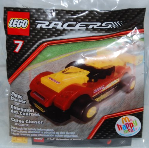 McDonalds Happy Meal 2009 Lego Racers - Curve Chaser #7