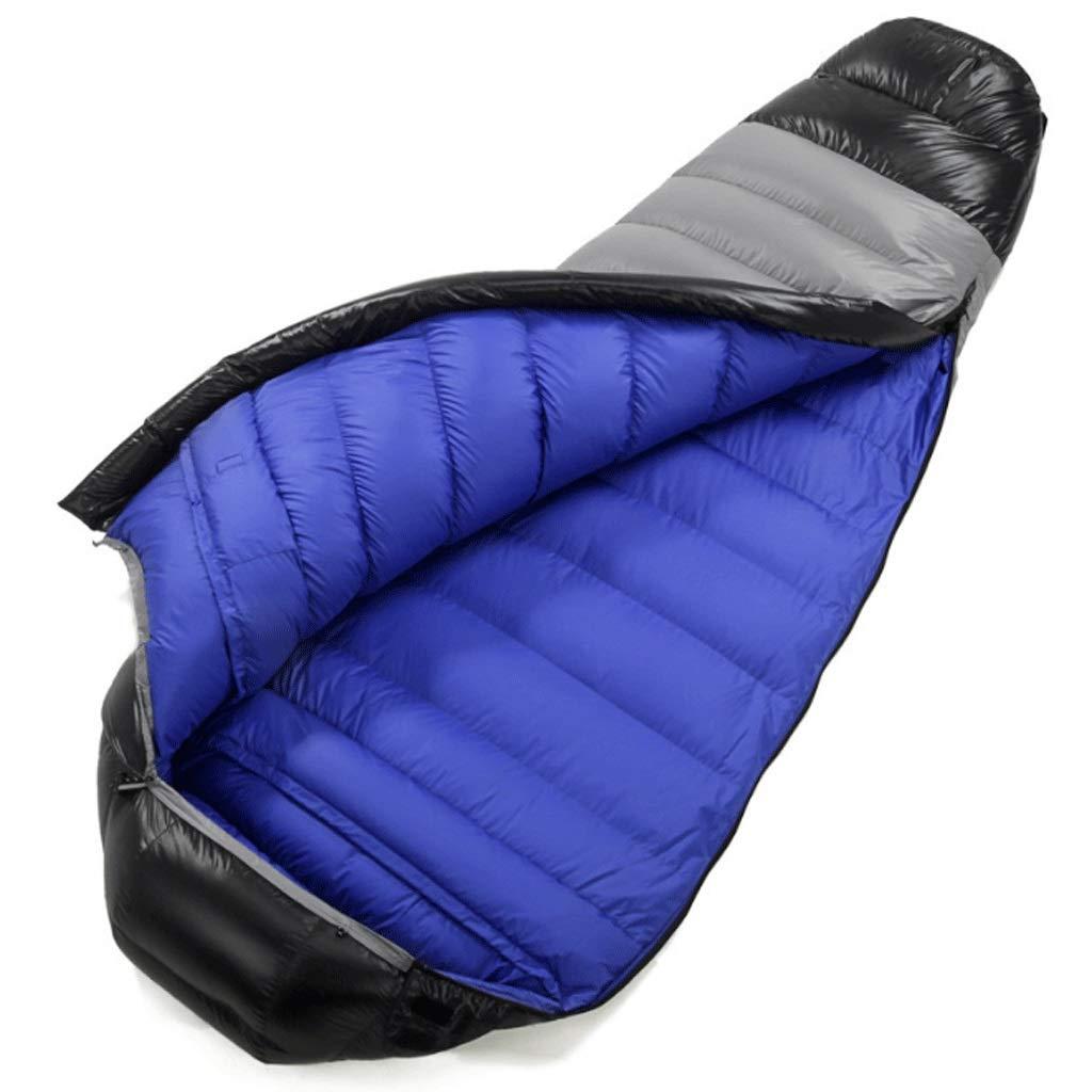 大人の寝袋超軽量暖かい昼食休憩は、屋内での使用やアウトドアキャンプ、ハイキング、釣り旅行にステッチすることができます (色 : Lined with green, サイズ さいず : 1200g) B07H141PB2 Lined with blue 1800g 1800g|Lined with blue