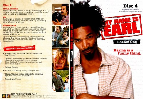 My Name Is Earl - Season 1 - Disc 4