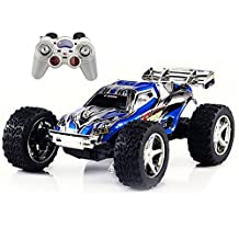 PowerLead RC Car 2WD 1:32 Scale Remote Control Electric Racing Car High Speed Vehicle with Rechargeable Battery