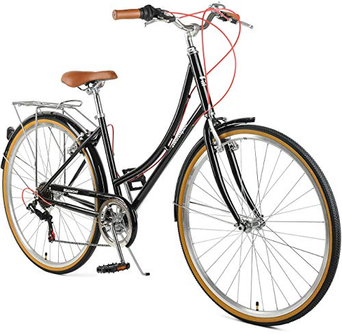 Retrospec Beaumont-7 Seven Speed Lady's Urban City...