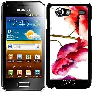 Funda para Samsung Galaxy S Advance (i9070) - Estampado De Flores 02 by Aloke Design