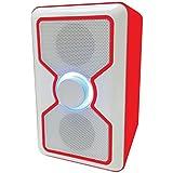 Sylvania SP015-Red Bluetooth Speaker with Built-In Speakerphone