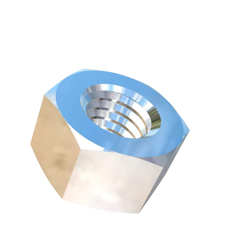 Allied Titanium 0000251, (Pack of 10) M8-1.25 Pitch Titanium Hex Nut, Grade 5 (Ti-6Al-4V) by Allied Titanium
