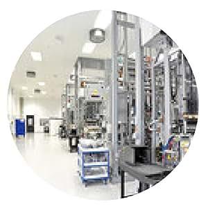 alfombrilla de ratón fábrica de alta tecnología Industriebetrieb // Hi Tech - ronda - 20cm
