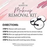 Kerotin Microfiber Make Up Remover Pads + Mesh