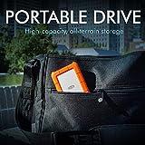 LaCie Rugged USB-C 1TB External Hard Drive Portable