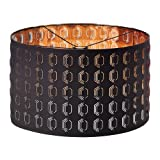 IKEA Nymo, Lamp Shade Black, Copper, 23 inches