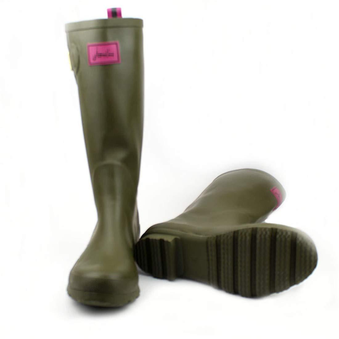 CAI&HONG-Umbrella GHH Mode Regen Stiefel hohe Rohr Wasserdichte Schuhe
