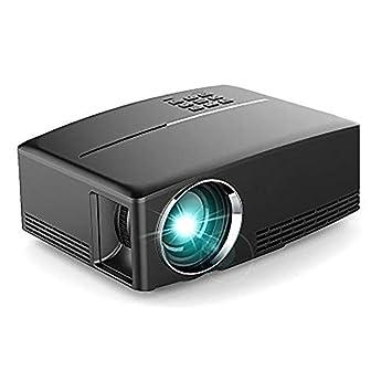Proyector Proyector Profesional Proyector de Video Compatible con ...