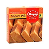 Indian sweet and Diwali sweets Maiyas Special Mysore pak, 250g, for Diwali and festival