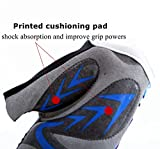 FINGER TEN Kids Junior Cycling Gloves Outdoor Sport Road Mountain Bike, Fit Boy Girl Youth Age 2-10, Gel Padding Bicycle Half Finger Pair Pink, XL
