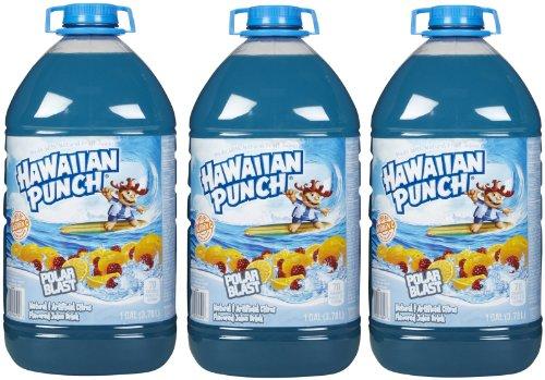 Hawaiian Punch Juice, Polar Blast, 128 oz, 3 pk