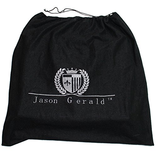 Leather Briefcase by Jason Gerald Leather Laptop Bag - Premium Messenger Bag for Men and Women by Jason Gerald (Image #6)