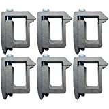 Tite-Lok TL1 Truck Cap Topper Mounting Clamp (6 Pack)