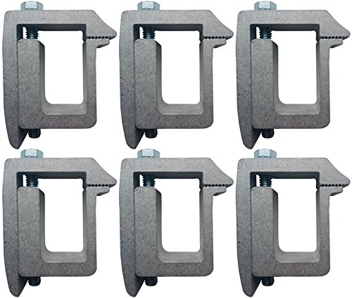 Ranger Low Profile Cap - Tite-Lok TL1 Truck Cap Topper Mounting Clamp (6 Pack)
