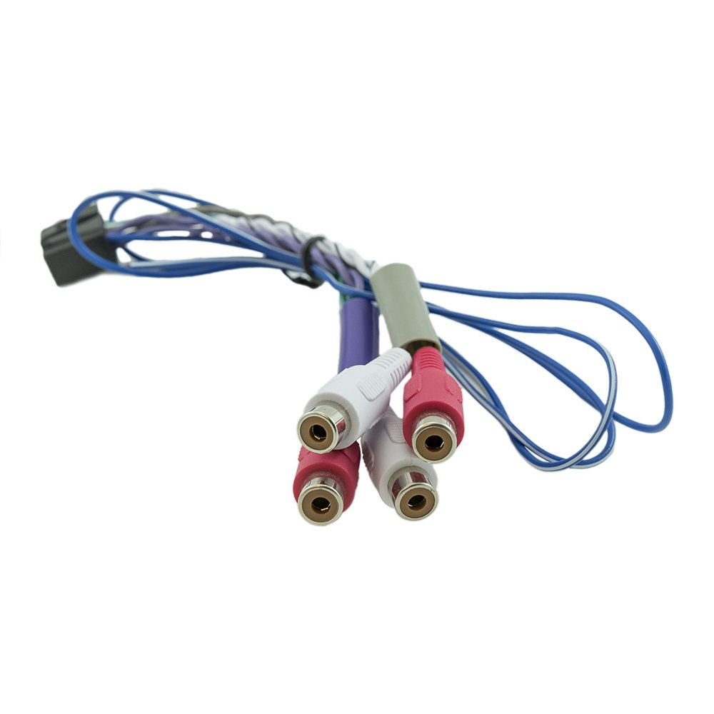 Alpine Ktp 445u Oem Genuine Front Rear Remote On Rca Cde 121 Wiring Harness Cable Automotive
