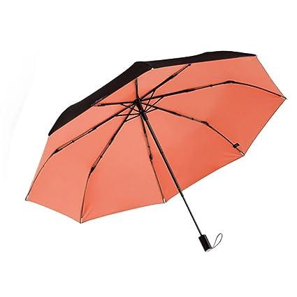 Zxzxzl Protector Solar De Doble Capa Pequeño Paraguas Negro Sombrilla De Paraguas De Sol Mini Paraguas