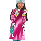 Clearance Sale!OverDose Toddler Kids Baby Girls Dress Long Sleeve Cartoon Dresss Tunic Outfits Children Costume(5T, A24)