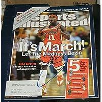 $147 » Dee Brown Illinois Fighting Illini SIGNED AUTOGRAPHED Sports Illustrated SI COA - Autographed NFL Magazines