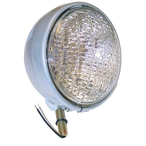 Headlight Assembly - 12V Round Sealed Beam Ford 5600 3910 2120 600 5610 2110 7610 8N 6700 4610 800 5000 6610 2600 4140 4140 9N 4600 700 2610 2000 7600 6600 900 NAA 4130 3000 3600 4000 4100 3610 4110