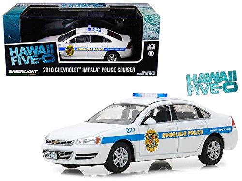 Maisto 2010 Chevrolet Impala Honolulu Police Cruiser from Hawaii Five-0
