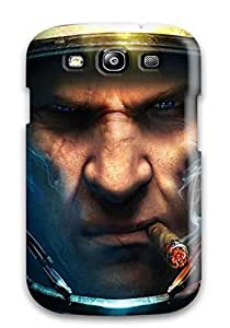 Anti-scratch And Shatterproof Starcraft Christmas And Screensavers Phone Case For Galaxy S3/ High Quality Tpu Case