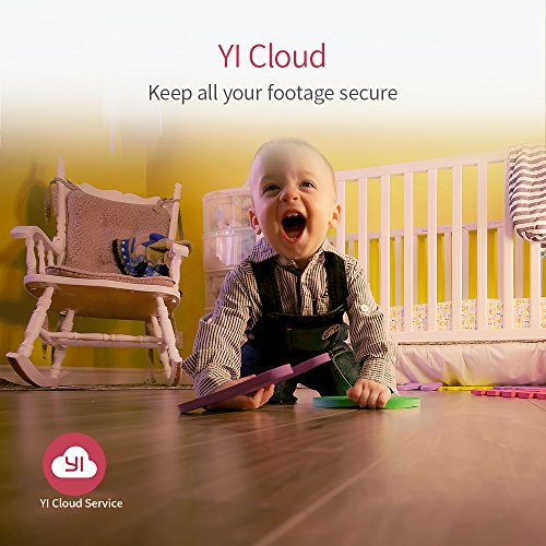 YI 4pc Home Camera, Wireless IP Security Surveillance System with Night Version for Baby / Pet Monitor (US Edition)